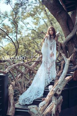 volcano wedding_個人寫真_Ginny
