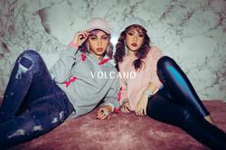 volcano wedding_美式閨蜜寫真