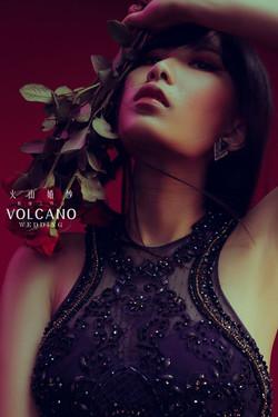 volcano wedding_個人寫真