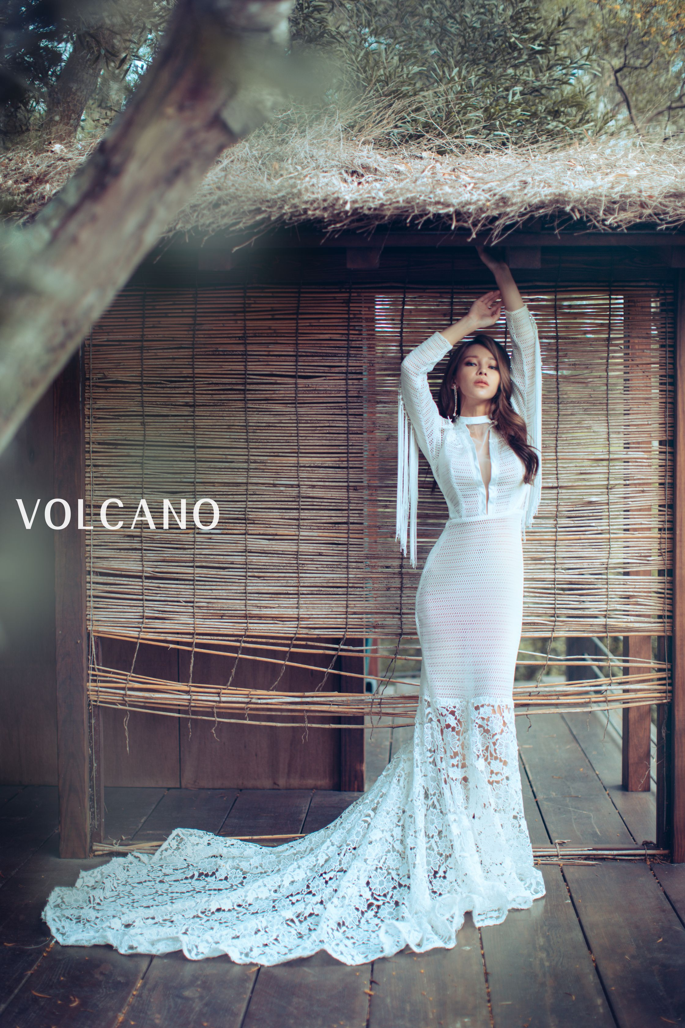 volcano wedding_個人寫真_Ginny