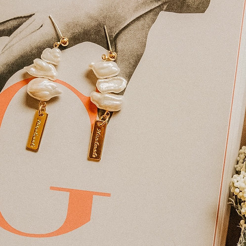 Josie Pearl Earrings