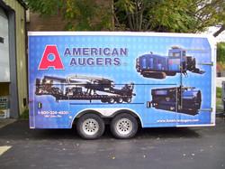 American Augers Trailer-2