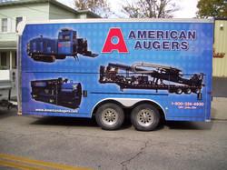 American Augers Trailer-3