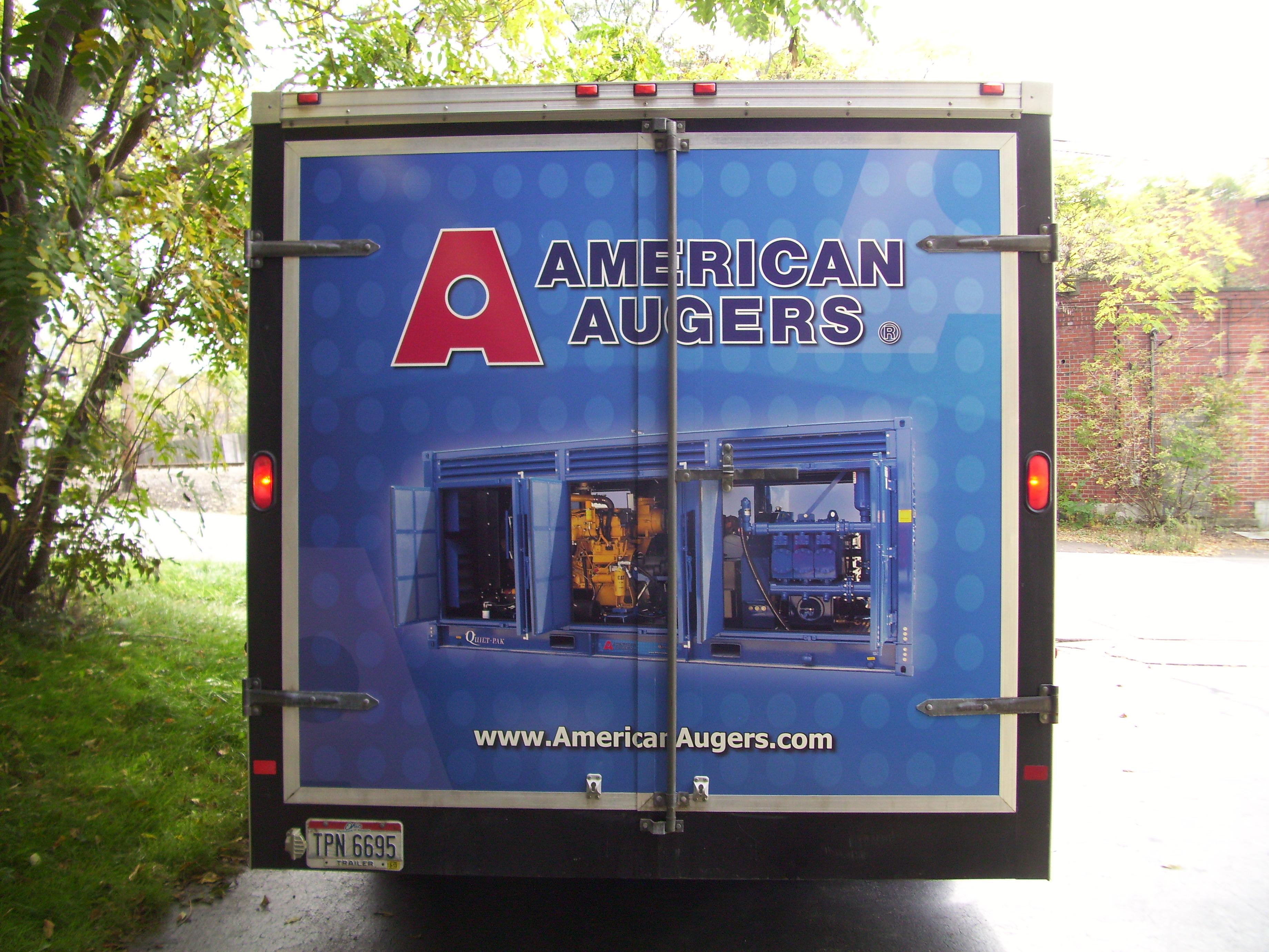 American Augers Trailer-1