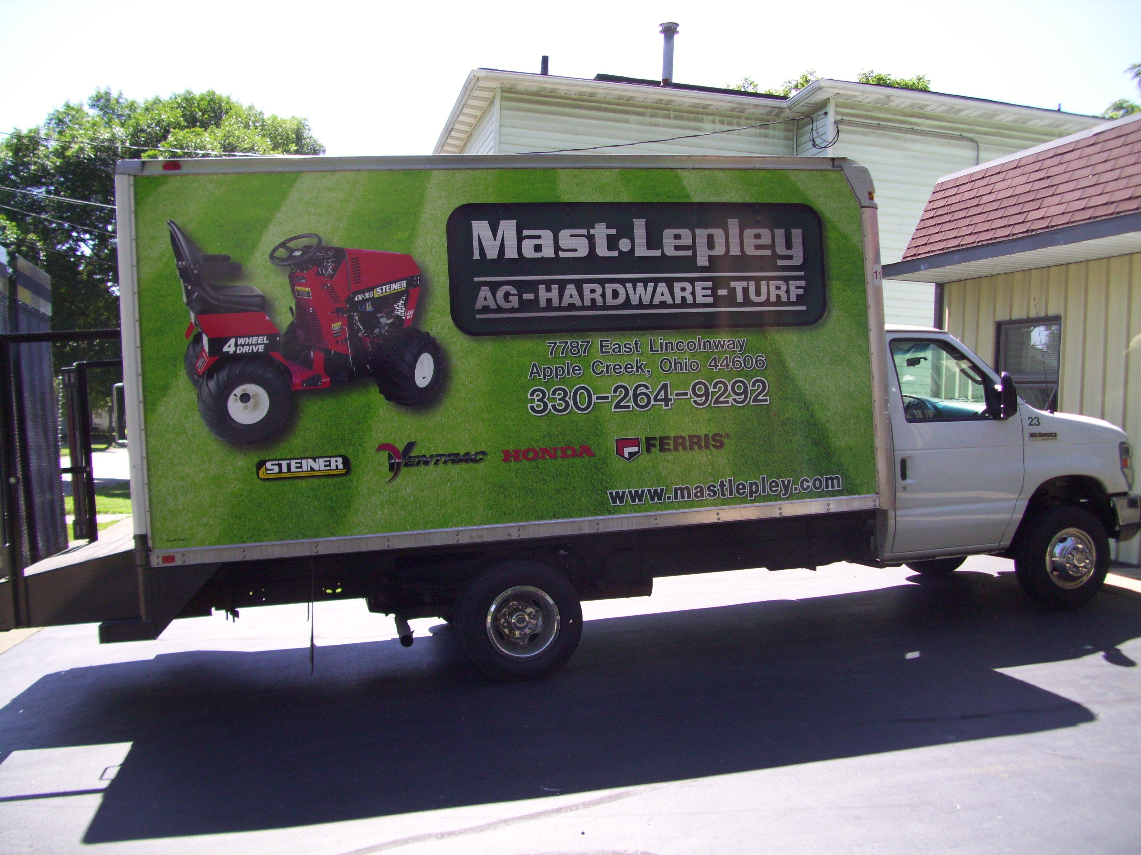 Mast Lepley Box Truck