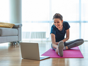 How to Stay Fit While Staying Put