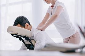 Corporate massage HealthCasa at Work Toronto
