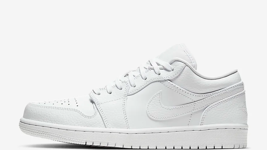 AIR JDN 1 LOW WHITE, CHOOSE YOUR PRINT