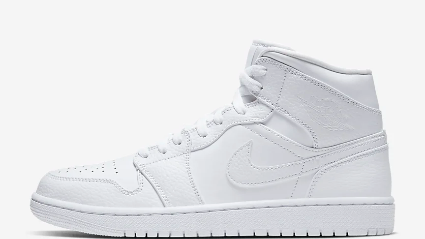 AIR JDN 1 MID WHITE, CHOOSE YOUR PRINT