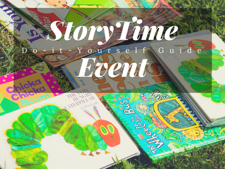 Story Time Event & How to throw one in your neighborhood