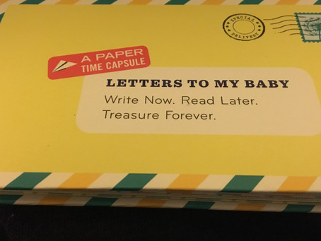 Keeping Memories: Letters to My Baby
