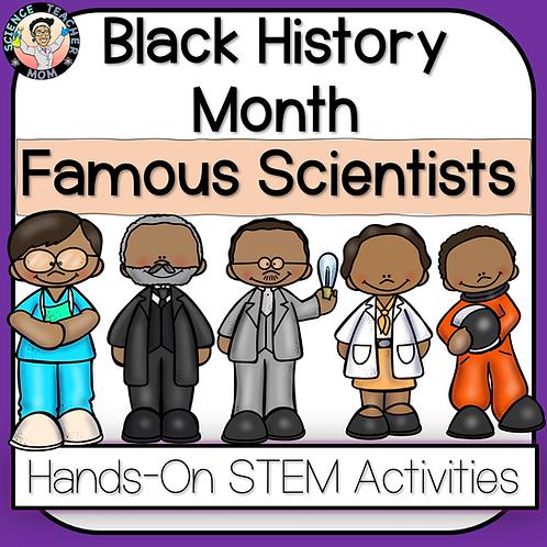 Black History Month Scientist BUNDLE & Activity Pack