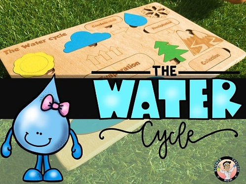 Water Cycle Wooden Puzzle