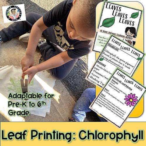 Chlorophyll: Leaf Printing