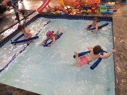 'Jetski's in the little pool