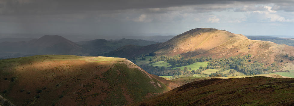 (c) Rick Greswell: Storm on the Shropshire Hills (overall winner)