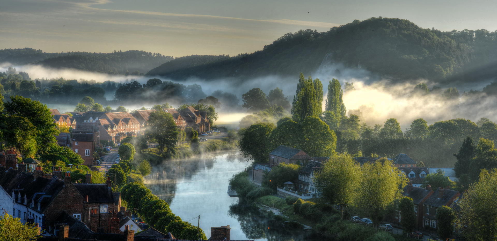 (c) Olwyn Wall: Misty morning on the Severn (joint runner up)