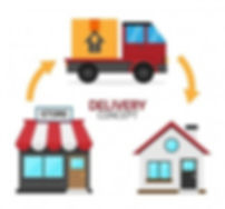 concetto-di-consegna-con-casa-negozio-e-