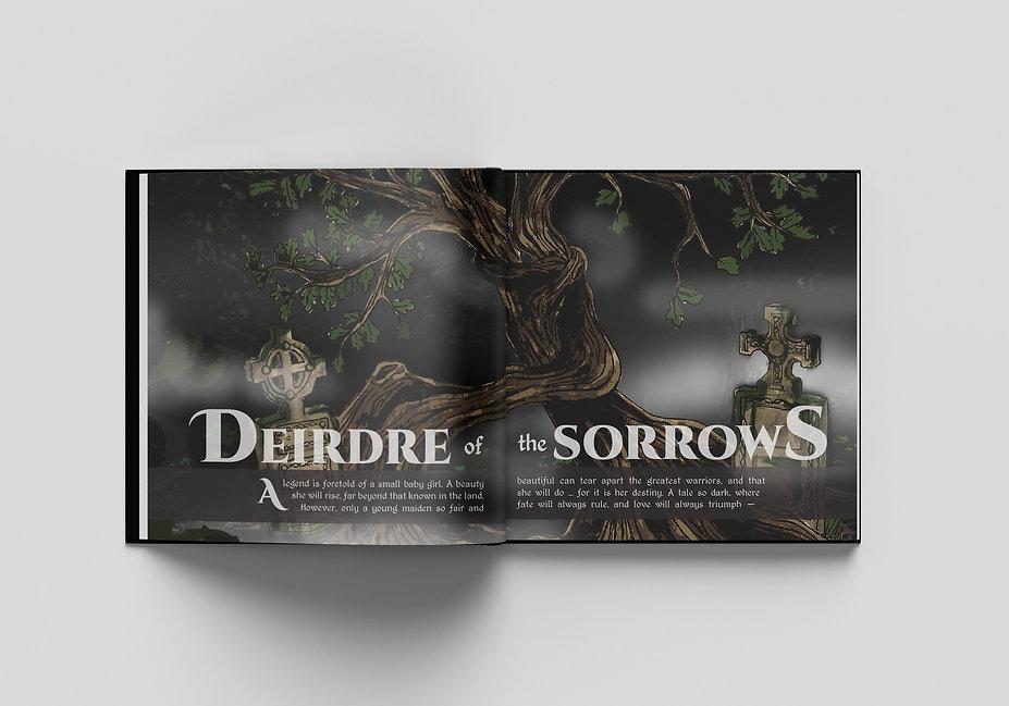Deirdre of the Sorrows Illustration