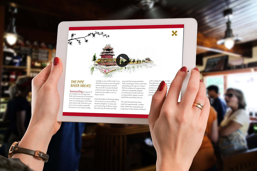 The Forbidden City Digital Brochure