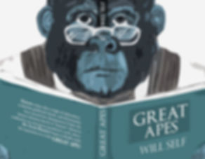 Great Apes book cover design