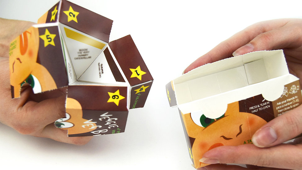 Eat Taste Play Packaging