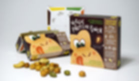 Children's sustainable snack packaging
