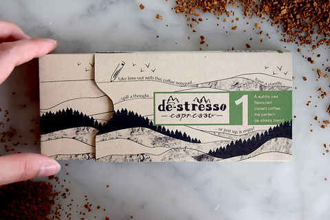 Sustainable coffee packaging
