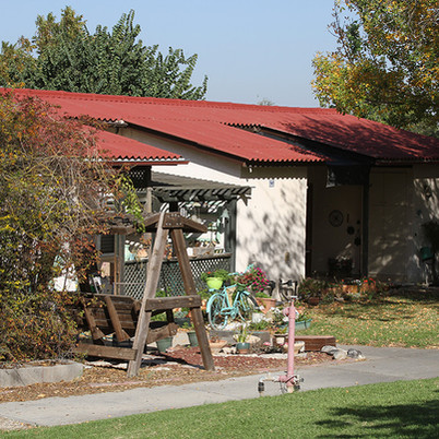 מראה חדש למבנה עם גג צמנט בורד
