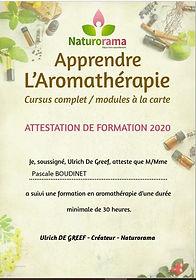 Pascale Boudinet Aromatologue