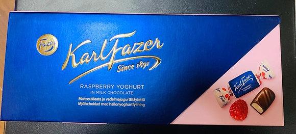 פייזר פרליני שוקולד פטל ויוגורט 270 גרם
