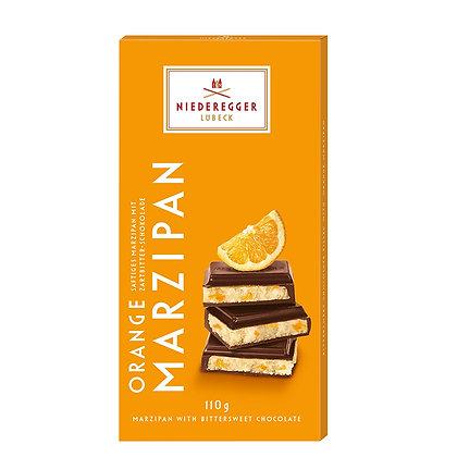 נידרגר – שוקולד מריר מרציפן תפוז 110 גרם