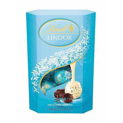 בונבונירה לינדור שוקולד לבן ועוגיות