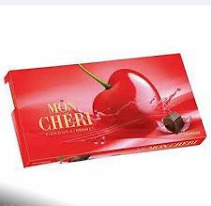 מון שרי- שוקולד במילוי קרם דובדבן