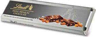 מבצע לינדט-שוקולד מריר עם מלח ים 300 גרם