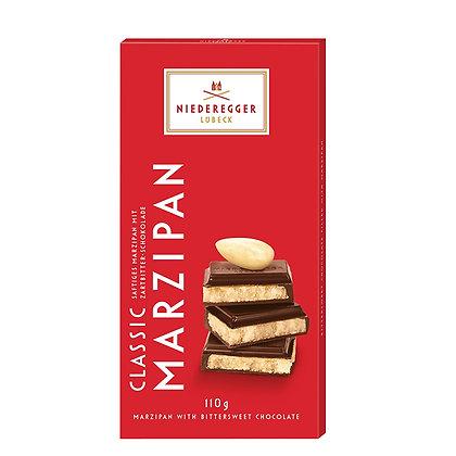נידרגר – שוקולד מריר מרציפן קלאסי 110 גרם