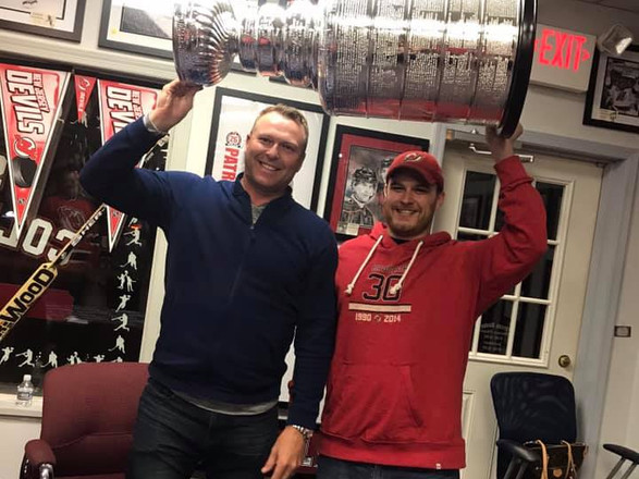 Marty with cup