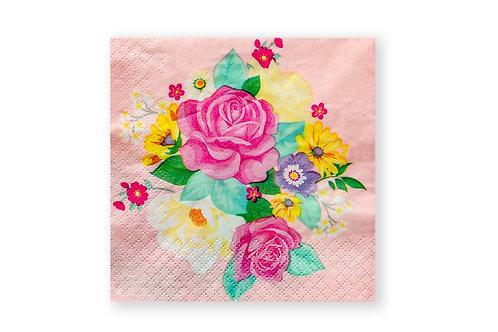מפיות מעוצבות פרחים