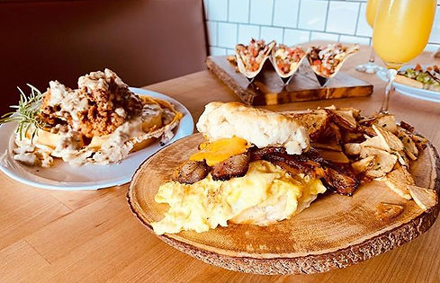 Serving new brunch items and bottomless