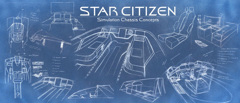 STAR CITIZEN CHASSIS CONCEPTS - Mock Up