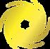 Lisa Finn Hypnosis Logo Gold Wheel no ba
