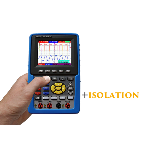 HDS1022M-I Handheld Digital Storage Oscilloscope 20MHz 100MS/s