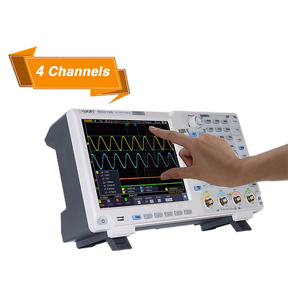XDS3104AE 4CH 14bit Touchscreen Digital Oscilloscope