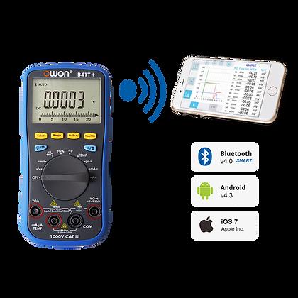 B41T+ 4 1/2 Digit Digital Multimeter with Bluetooth