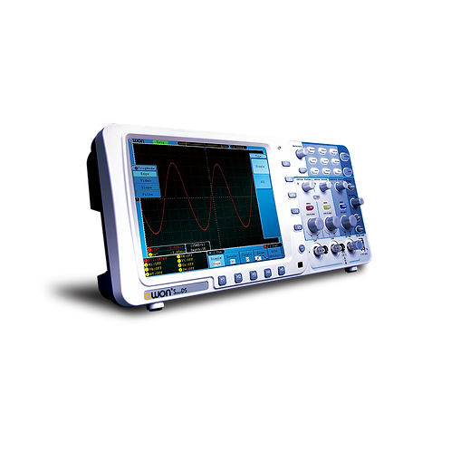 SDS8102V 100 MHz, 2GS/s, 2 Channel Digital Storage Oscilloscope with VGA
