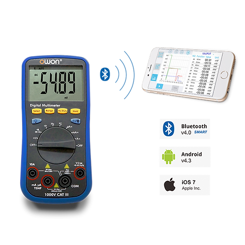 D33 3/4 Digital Multimeter With Bluetooth