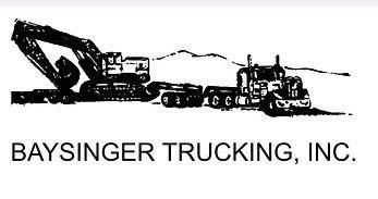 Baysinger Trucking Sponsor