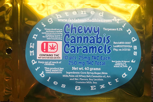 250mg Caramel