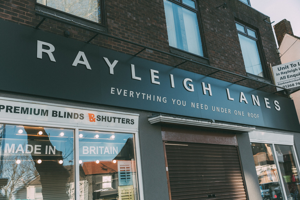 Shopping at the Rayleigh Lanes