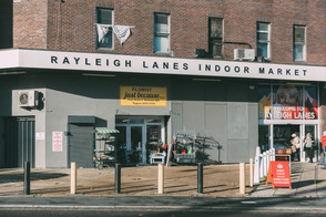 The Rayleigh Lanes indoor market